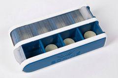 Schine Pill Box S lääkeannostelija sininen 1 kpl