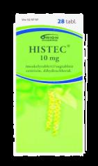 HISTEC 10 mg imeskelytabl 28 fol