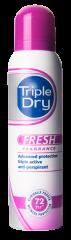 TRIPLE DRY FRESH 72H SPRAY ANTIPERSPIRANT TUOKSULLA 150 ML
