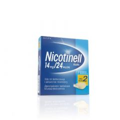 NICOTINELL 14 mg/24 h depotlaast 7 kpl
